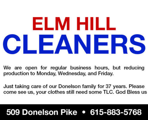 Service_Elm Hill Cleaners
